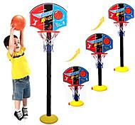 abordables -Panier de basket Ensemble de cerceau de basket Portable Ajustable Intérieur Plastique Garçons et filles