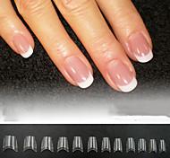 abordables -500pcs faux ongles conseils en acrylique clairs ongles français conseils pour ongles dame claire style acrylique français 11 multi-tailles pour les salons de manucure et le bricolage