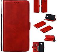economico -telefono Custodia Per Samsung Galaxy Integrale Custodia in pelle Custodia flip J8 J6 J4 Con chiusura magnetica A calamita Con onde pelle sintetica