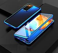economico -telefono Custodia Per Samsung Galaxy Integrale Custodia ad adsorbimento magnetico S20 Plus S20 Ultra S20 Galaxy M31 A prova di sporco Transparente Doppia setola Transparente Vetro temperato Metallo