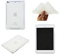 economico -telefono Custodia Per Apple Per retro iPad Mini 3/2/1 iPad Mini 4 iPad Mini 5 Rotazione a 360° Resistente agli urti Transparente Tinta unita TPU