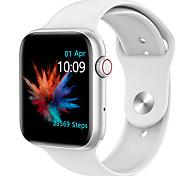 abordables -QS18 Smartwatch Montre Connectée pour Android iOS Samsung Apple Xiaomi Bluetooth 1.54 pouce Taille de l'écran IP 67 Niveau imperméable Imperméable Ecran Tactile Moniteur de Fréquence Cardiaque