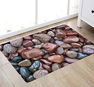 economico -tappetini da bagno moderni in pietra marrone non tessuti / memory foam bagno novità