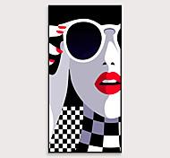 economico -tela pop art incorniciata stampa su tela moderna modelli di moda ps pittura a olio arte della parete adatta per corridoio portico decora pronto da appendere