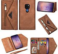 economico -telefono Custodia Per Huawei Integrale Custodia in pelle Porta carte di credito HUAWEI P40 HUAWEI P40 Pro Huawei P20 Huawei P20 Pro Huawei P20 lite Huawei P30 Huawei P30 Pro Huawei P30 Lite Mate 10