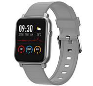 abordables -HF1 Smartwatch Montre Connectée pour Android iOS Samsung Apple Xiaomi Bluetooth 1.28 pouce Taille de l'écran IP68 Niveau imperméable Imperméable Ecran Tactile Moniteur de Fréquence Cardiaque Mesure