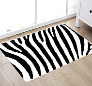 economico -bagno moderno in tessuto non tessuto / memory foam con semplici strisce nere