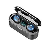economico -LITBest F9-8 Auricolari wireless Cuffie TWS Bluetooth5.0 Stereo Con la scatola di ricarica Accumulatore di energia per Apple Samsung Huawei Xiaomi MI Sport Fitness