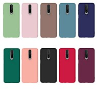 abordables -téléphone Coque Pour Xiaomi Coque Arriere Redmi K30 Redmi Note 8 Redmi Note 7 Redmi Note 6 Pro Redmi Go Redmi K20 Pro Redmi K20 Redmi Note 7S Redmi Note 7 Pro Redmi note 6 Antichoc Dépoli Couleur unie