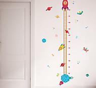 abordables -règle de mesure de la hauteur de l'enfant stickers muraux stickers muraux décoratifs, décoration de la maison pvc sticker mural décoration murale / amovible 30 * 90cm