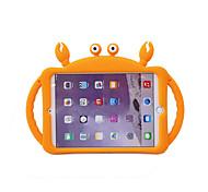 economico -telefono Custodia Per Apple Per retro iPad Mini 3/2/1 iPad Mini 4 iPad Mini 5 Con supporto Fantasia / disegno Cartoni animati Animali Gel di silice