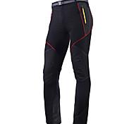 abordables -Homme Pantalon Velo Cyclisme Vélo Pantalons / Surpantalons Collants Pantalons Etanche Respirable Séchage rapide Des sports Noir / Gris VTT Vélo tout terrain Vélo Route Vêtement Tenue Avancé