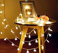 abordables -3m 20LED Star String Light Twinkle Guirlandes Guirlandes LED alimentées par batterie pour la lampe décorative de fête de vacances de mariage sans batterie