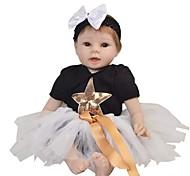 abordables -Vêtements de poupées Reborn Baby Accessoires de poupée Reborn Tissu en Coton pour poupée Reborn de 22 à 24 pouces Poupée Reborn Non Incluse Etoile Doux Pur fait main Fille 3 pcs