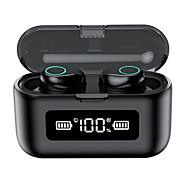 economico -LITBest F9-281 Auricolari wireless Cuffie TWS Bluetooth5.0 Stereo Con la scatola di ricarica Controllo touch intelligente per Apple Samsung Huawei Xiaomi MI Sport Fitness