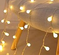 abordables -3m LED Guirlandes 20 LED Mini Boules Décoration De Noël De Mariage Fée Lumière Fête De Vacances Fête Extérieure Cour Décoration Lampe USB Alimenté Cadeau De Noël