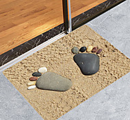 economico -tappetini da bagno in pietra sabbia moderni non tessuti / memory foam bagno novità