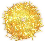 economico -decorazione natalizia led luce stringa 100 m 800 led ac 220 v natale capodanno luce natalizia luci esterne impermeabili 9 colori albero ghirlanda decorazione lampada