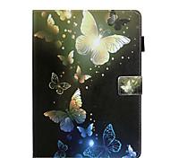 abordables -téléphone Coque Pour Apple Coque Intégrale iPad Air iPad (2018) iPad Air 2 iPad (2017) iPad Pro 9,7 pouces Rotation à 360 ° Antichoc Magnétique Mot / Phrase Papillon Panda faux cuir TPU
