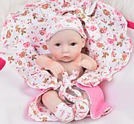 abordables -Vêtements de poupées Reborn Baby Accessoires de poupée Reborn Tissu en Coton pour poupée Reborn 10-11 pouces Poupée Reborn Non Incluse Eléphant Doux Pur fait main Fille 4 pcs