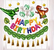 abordables -Ballons de fête 45 pcs Dinosaure Dessin Animé Articles de fête Tous Anniversaire Décoration 12inch pour les fournitures de fête ou la décoration de la maison / Enfants