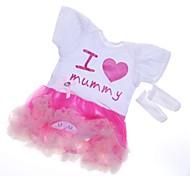 abordables -Vêtements de poupées Reborn Baby Accessoires de poupée Reborn Tissu en Coton pour poupée Reborn de 22 à 24 pouces Poupée Reborn Non Incluse Cœur Doux Pur fait main Fille 2 pcs