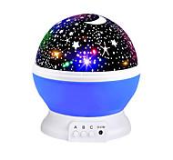abordables -Ciel projecteur étoile lune galaxie veilleuse pour enfants enfants chambre décor projecteur rotatif pépinière veilleuse led bébé lampe cadeaux