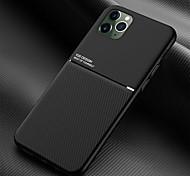 abordables -téléphone Coque Pour Apple Coque Arriere iPhone 11 Pro Max SE 2020 X XR XS Max 8 7 6 Antichoc Lignes / Vagues Couleur unie TPU