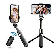 abordables -l03 selfie stick trépied sans fil bluetooth selfie trépied monopode portable pliable avec obturateur iphone caméra de mouvement à distance