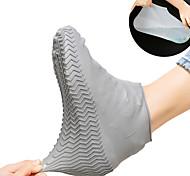 abordables -1 paire imperméable chaussures de protection couvre-chaussures unisexe couvre-chaussures de pluie anti-dérapant chaussures de pluie cas silicone couvre-chaussures accessoires