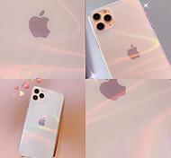 economico -telefono Custodia Per Apple Per retro iPhone 12 Pro Max 11 SE 2020 X XR XS Max 8 7 Transparente Colore graduale e sfumato TPU