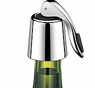 economico -tappo per bottiglia di vino riutilizzabile in acciaio inossidabile risparmiatore di vino 1 pz
