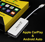 economico -carplay smart link wired usb carplay dongle for android ios phone car mini usb carplay stick with android auto plug and play with set up video