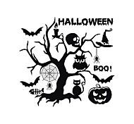 abordables -Halloween stickers muraux stickers muraux décoratifs, pvc décoration de la maison sticker mural décoration murale / amovible 58 * 55 cm