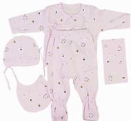 abordables -Vêtements de poupées Reborn Baby Accessoires de poupée Reborn Tissu en Coton pour poupée Reborn de 22 à 24 pouces Poupée Reborn Non Incluse Eléphant Doux Pur fait main Fille 5 pcs