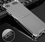 economico -telefono Custodia Per Samsung Galaxy Per retro Custodia flip Galaxy Z Flip Resistente agli urti Con chiusura magnetica Transparente Transparente TPU