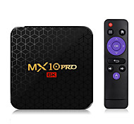 abordables -smart tv box mx10 pro android 9.0 allwinner h6 uhd 4k lecteur multimédia 6k image décodage 4gb 32gb 2.4g wifi tv box