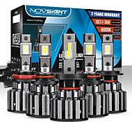 abordables -novsight ampoules de voiture à LED 2pcs h4-h7-h11-9005-9006 80w 14400lm phares à LED pour moteurs généraux universels toutes les années avec vidéo de configuration