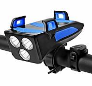 abordables -LED Eclairage de Velo Eclairage de Vélo Avant Lumière de corne de vélo Vélo Cyclisme Imperméable Modes multiples Ajustable Antichocs Blanc
