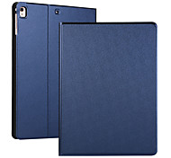 abordables -téléphone Coque Pour Apple Coque Intégrale iPad Mini 3/2/1 iPad Mini 4 iPad Mini 5 Clapet Mise en veille automatique Couleur Pleine faux cuir TPU