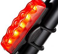 economico -Luci bici Luce posteriore per bici luci di sicurezza Ciclismo da montagna Bicicletta Ciclismo Impermeabile Modalità multiple Super luminoso Portatile 10 lm Batteria AAA / IPX 6