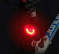 economico -LED Luci bici Luce posteriore per bici LED Bicicletta Ciclismo Impermeabile Ruotabile Grandangolo Rilascio rapido Litio-polimero 120 lm Batteria ricaricabile Rosso Campeggio / Escursionismo / IPX 6