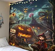 abordables -Halloween effrayant palm sang tenture murale tapisserie fête d'halloween tapisserie murale tapisseries en tissu maison bar halloween bricolage décor