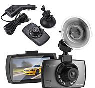 abordables -1080p Nouveau design / Enregistrement automatique de démarrage DVR de voiture 120 Degrés Grand angle 2.4 pouce TFT / LTPS / LCD Dash Cam avec Vision nocturne / G-Sensor / Enregistrement en Boucle 1