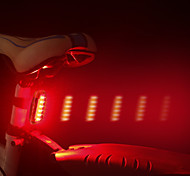 economico -LED Luci bici Luce posteriore per bici LED Bicicletta Ciclismo Impermeabile Induzione intelligente Induzione automatica del freno Rilascio rapido Litio-polimero D-Cell 120 lm Batteria ricaricabile