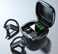 economico -LITBest MD03 Auricolari wireless Cuffie TWS Bluetooth5.0 Uncino per contor Stereo Dotato di microfono per Apple Samsung Huawei Xiaomi MI Sportivo Viaggi e intrattenimento