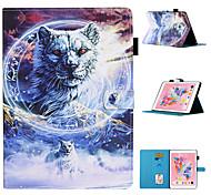 """economico -telefono Custodia Per Apple Integrale iPad Pro 12,9 '' (2018) Ipad Pro 12.9 """"2020 Porta-carte di credito Con supporto Fantasia / disegno Albero Fiore decorativo Animali pelle sintetica"""