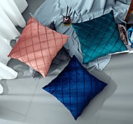 economico -1 pz fodere per cuscini in velluto super morbido federa decorativa quadrata per divano letto divano panca, 18 x 18 pollici (45 cm)