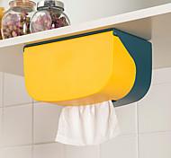abordables -boîte à mouchoirs murale plateau de tiroir de cuisine perforé salle de bains porte-papier toilette rangement en rouleau