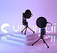 abordables -micro de jeu usb micro ordinateur à condensateur pc avec trépied& filtre anti-pop pour l'enregistrement vocal de podcasting en streaming compatible avec l'ordinateur portable imac pc